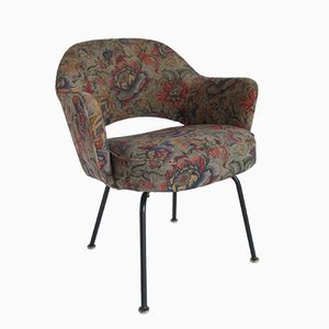 Floral Executive Armchair by Eero Saarinen for Knoll