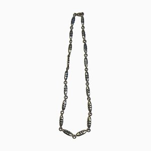 Sterling Silver Segmented Necklace No 391 from Georg Jensen