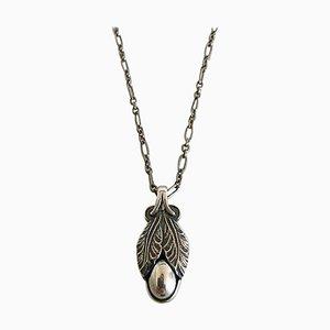 Sterling Silber Jahres Halskette von Georg Jensen