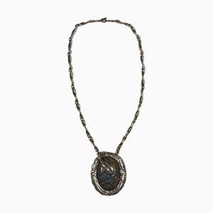 Sterling Silber Halskette von Georg Jensen