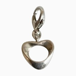 Sterling Silver Charm Hearts for Georg Jensen