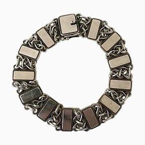 Bracelet Vintage en Argent Sterling N ° 75 de Georg Jensen