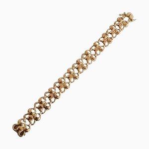 Bracelet Or 14 Carat No 346 de Georg Jensen