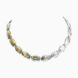 Sterling Silber Halskette No 94A von Georg Jensen