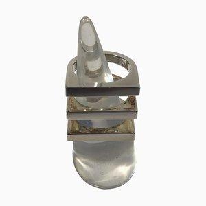 No 593F Aria Ring aus Sterlingsilber von Bent Knudsen