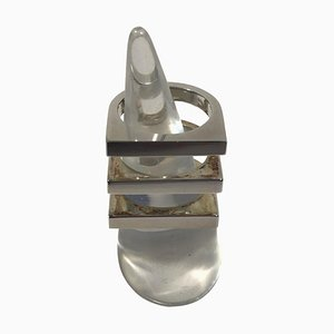 Sterling Silver Ring No 593F Aria from Bent Knudsen