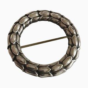 Spilla Sterling Silver nr. 301 di Sigvard Bernadotte per Georg Jensen