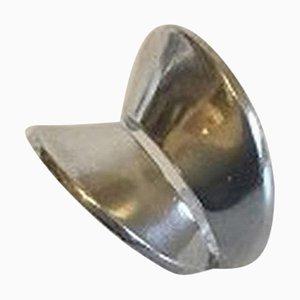 Sterling Silber Ring Nr. 93 von Nanna Ditzel für Georg Jensen