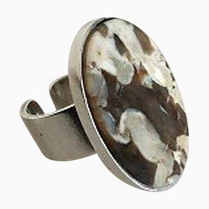 Sterling Silber Ring für Georg Jensen