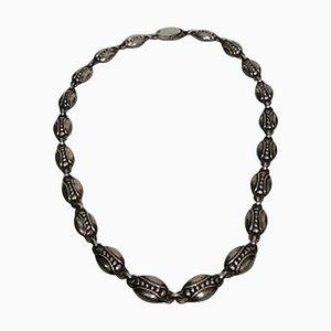 Sterling Silber Halskette für Georg Jensen