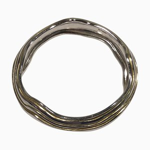 Sterling Silver Arm Ring or Bangle No 348A from Georg Jensen