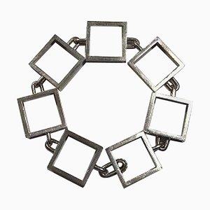 Sterling Silver Bracelet by Hans Hansen