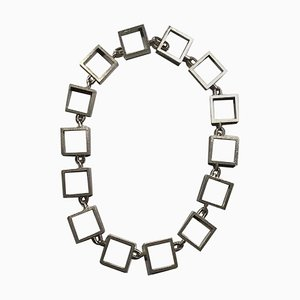 Sterling Silver Necklace by Hans Hansen