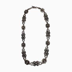 Sterling Silber Halskette No 10 von Georg Jensen
