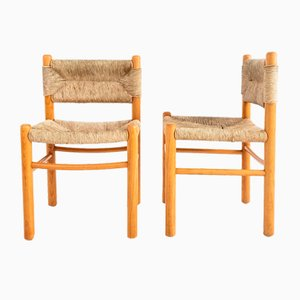 Chairs in the Style of Charlotte Perriand, Set of 2