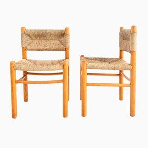 Stühle im Stile von Charlotte Perriand, 2er Set