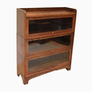 1920s Oak Stacking Bookcase