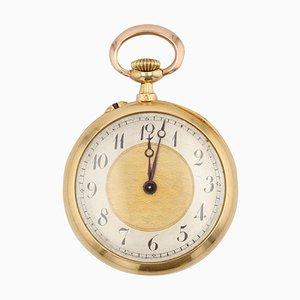 Armbanduhr aus Gelbgold & Diamant aus 20. Jhdt