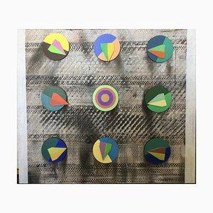 On Artemis Nine, Mixed Media, Abstract Painting, 2020