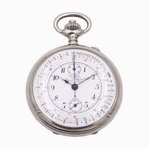 18th Century Steel Pocket Chronograph