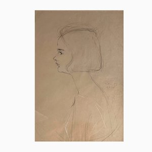 Henry Meylan, Portrait de jeune fille, 1939