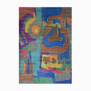 Julien Dinou, Composition abstraite, 1961