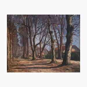 Hermann Hodler, Balade à la Rivière de la Forêt, 1950