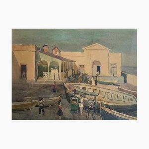 Ellis Zbinden, Paysage d'orient, 1960s