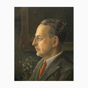 Ellis Zbinden, Portrait d'homme, 1944