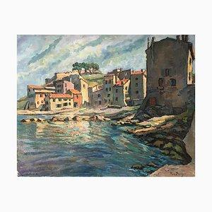 Richard Berger, Port de Saint Tropez, 1956