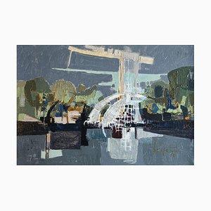 Paul Delapoterie, Composition abstraite, 1960s