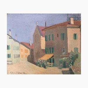 Alexandre De Spengler, La place de Grandvaux, 1944