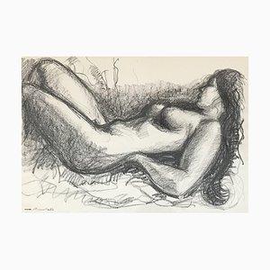 Marius Chambaz, Nu couché, 1973