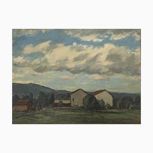 Marius Chambaz Field and Houses, 1954