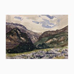 John Torcapel, Vallée de l'Arve, 1946