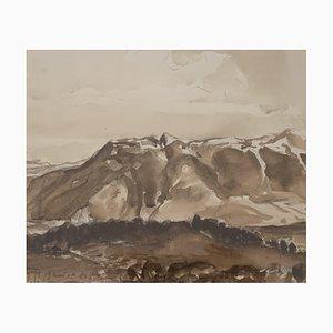 John Torcapel, Chaine de montagnes, 1935