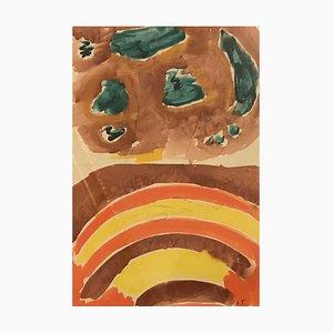 John Torcapel, Deux Compositions Abstraites, 1955