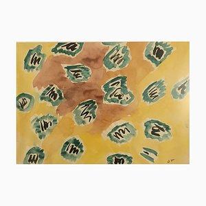 John Torcapel, Composition Abstraite, 1954