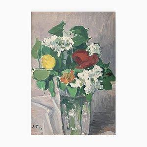 John Torcapel, Blumenstrauß, 1958