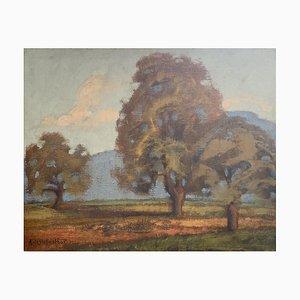 Adolphe De Siebenthal, Grand arbre, 1921