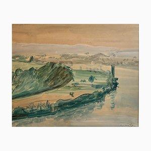 Paul Mathey, Bord du lac, 1930