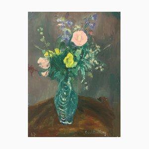 Paul Mathey, Bouquet dans son vase, 1963