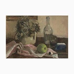 Benjamin II Vautier Still Life and Apple, 1944