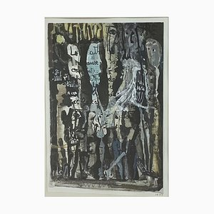 Olga Reiwald, Art abstrait, 1977