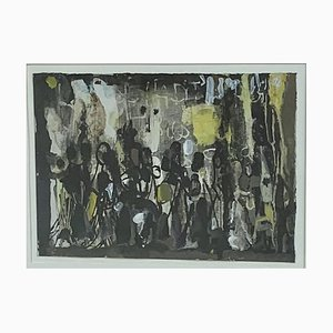 Olga Reiwald, Art abstrait, 1950s