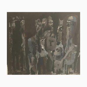 Olga Reiwald, Les mains gouache, 1977