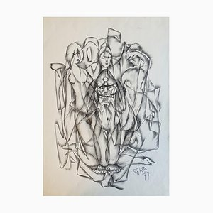 Vivaldo Martini the Temptation of St. Anthony, 1977