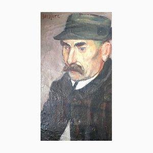 Emile Bressler, Portrait d'homme, 1903