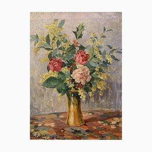 Lorrand Zubritzky, Bouquet de fleurs, 1925