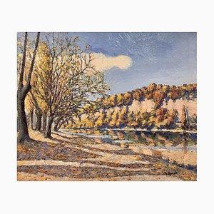 Maurice Loponte, Bois bord d'eau, 1956